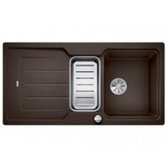 Évier de cuisine Neo 6S - Café - sous-meuble 60 cm - L 1000 x l 510 x P 190 mm + Planche en composite - Blanco