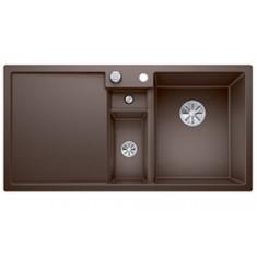 Évier de cuisine Collectis 6S - Café - sous-meuble 60 cm - L 1000 x l 500 x P 190 mm + Bac de tri - Blanco