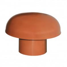 Chapeaux de ventilation PVC sans moustiquaire - Rouge tuile