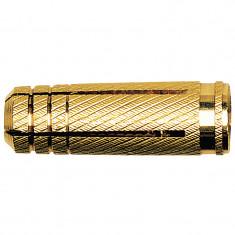 Cheville laiton taraudage M8 - Boîte de 100 - Fischer 26427