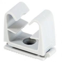 Clip tube FC pour fixation câble électrique et tube souple