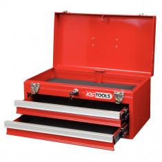Coffre à outils vide avec 2 tiroirs et plateau KS Tools 891.0002