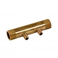 """Collecteur 3/4"""" (20/27) Mâle - 2 départs pour tube PER Ø12 - entraxe 40mm"""