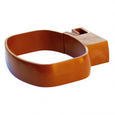 Collier bride pour tube de descente PVC BEST Ø92x57 - effet cuivre