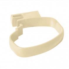Collier bride pour tube de descente PVC BEST Ø92x57 - sable