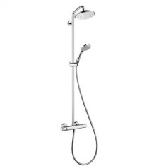 HANSGROHE Showerpipe Croma 220 AIR EcoSmart Chromé 27188000