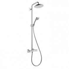 HANSGROHE Showerpipe Croma 220 AIR Chromé 27185000