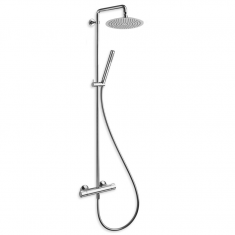 Colonne de douche thermostatique THETA CONFORT 250 Chromé - Cristina Ondyna TE45651