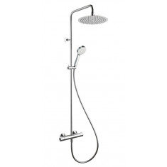 Colonne de douche thermostatique THETA TROPIC 300 Chromé - Cristina Ondyna TE48651