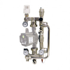 COMBIMIX Groupe de réglage hydraulique avec tête thermostatique