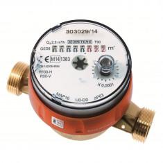 """Compteur divisionnaire eau chaude pré-équipé télérelevage - 3/4"""" (20x27)"""