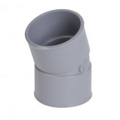 Coude PVC 20° Femelle Femelle Ø32 ou Ø40 ou Ø50 ou Ø100 Nicoll