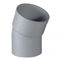 Coude PVC 22°30 Mâle Femelle Ø40