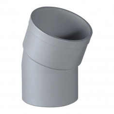 Coude PVC 22°30 Mâle Femelle Ø100