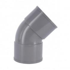 Coude PVC 45° Femelle/Femelle Ø110