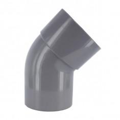 Coude PVC 45° Mâle/Femelle Ø32