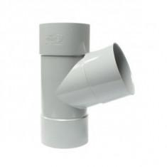 Culotte PVC 67°30 Femelle Femelle Ø80 FIRST PLAST