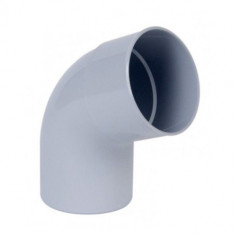 Coude PVC 67°30 Mâle/Femelle Ø125