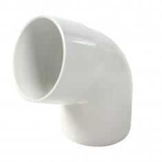 Coude PVC 67°30 MF pour tube Ø100 épaisseur 2.2mm - blanc