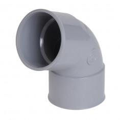 Coude PVC 67° Femelle Femelle NICOLL