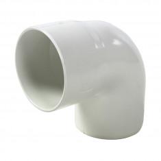 Coude PVC 87°30 MF pour tube Ø100 épaisseur 2.2mm - blanc