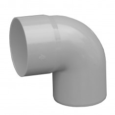 Coude PVC 87°30 MF pour tube Ø100 épaisseur 3.2mm - gris
