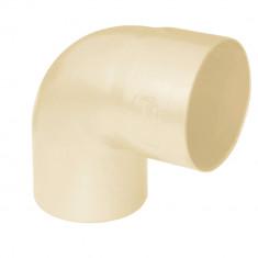 Coude PVC 87°30 MF pour tube Ø100 épaisseur 3.2mm - sable