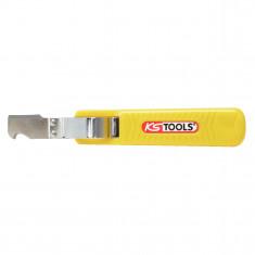 Couteau à dégaîner pour câbles de 8-28 mm, 165 mm KS Tools 907.2184