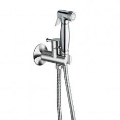 Kit mitigeur douchette WC encastré complet rétro Chromé - Cristina Ondyna PD67751