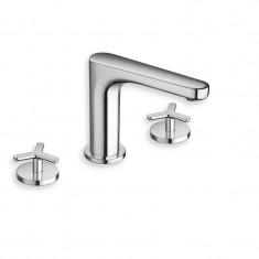 Robinet mélangeur lavabo 3 trous BEAK Chromé - Cristina Ondyna BE20551