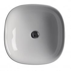 Vasque carré 45cm blanc à encastrer Wild - Ondyna WWL4509