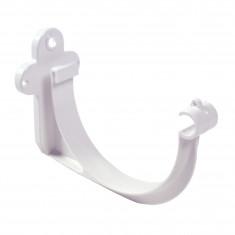 Crochet bandeau PVC 33 demi-ronde - blanc