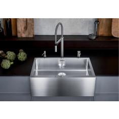 Évier de cuisine en inox Blanco Cronos XL 8-IF - acier inoxydable - L 795 x l 468 x P 190 mm - sous-meuble 80 cm - Blanco