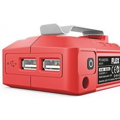 Adaptateur électrique USB 10.8V/18V pour machine Flex 18V