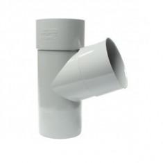 Culotte PVC 67°30 Mâle Femelle Ø80 FIRST PLAST
