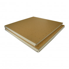 Dalle lisse polyuréthane R4,65 Ep.101mm - Lot de 5 plaques (5,85m²)
