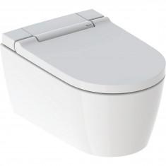 WC complet suspendu Geberit AquaClean Sela : Blanc alpin
