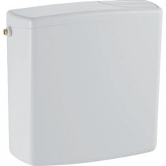 Réservoir apparent Geberit AP140, rinçage double touche : Blanc alpin - Geberit