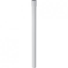 Rallonge de coude de chasse Geberit, droit 46,5cm, avec manchon à emboîter Ø32mm, Blanc alpin