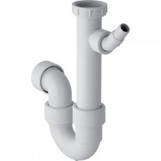 """Siphon en tube coudé pour évier sortie horizontale Ø40mm, G1""""1/2"""" (40/49) - Geberit"""