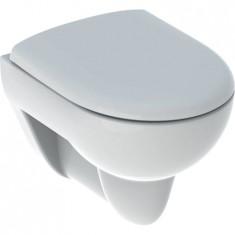 Pack WC suspendu à fond creux Geberit Renova Compact, compact, avec abattant WC