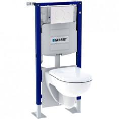 Pack bâti-support Duofix + plaque de déclenchement Sigma01 + WC Renova - Geberit