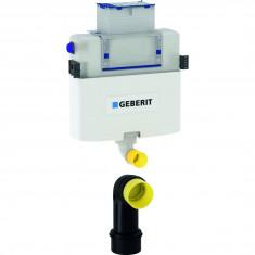 Réservoir à encastrer Geberit Omega 12 cm, 6/3 litres, hauteur de montage 82 cm - Geberit