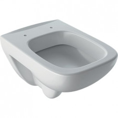 WC suspendu rimfree avec bride RENOVA COMPACT SQUARE - Geberit