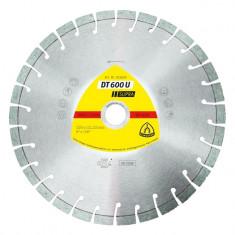 Disque à tronçonner Ø125mm diamant - Type DT 600 U