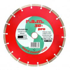 Disque diamant 3B-PRO 125 x 1,9mm