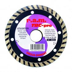 Disque diamant TBC-PRO diamètre 115 x 2,2mm