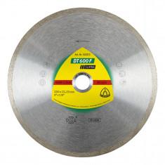 Disque à tronçonner Ø125mm diamanté carrelage - Type DT 600 F - Klingspor 325369
