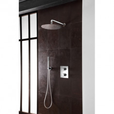 Cristina Ondyna Façade douche mural thermostatique NEW DAY 2 sorties