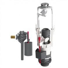 Mécanisme wc MVB3 à étrier double touche + Flotteur TOPY - Wirquin Pro 10717833